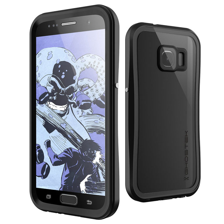 Ghostek Atomic 2.0 Samsung Galaxy S7 Waterproof Tough Case - Black