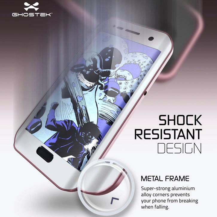 Ghostek Atomic 2.0 Samsung Galaxy S7 Edge Waterproof Case - Pink