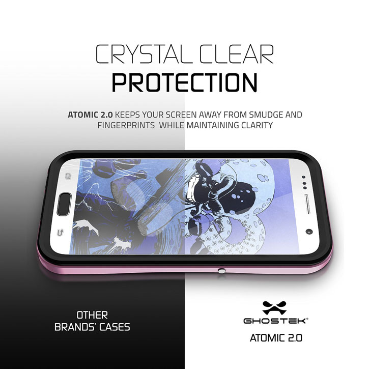 Ghostek Atomic 2.0 Samsung Galaxy S7 Waterproof Tough Case - Pink