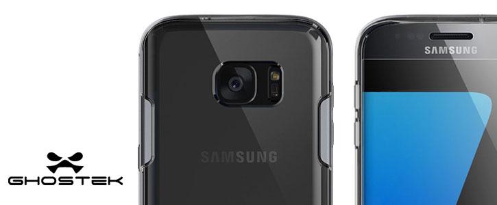 Ghostek Cloak Samsung Galaxy S7 Edge Tough Case - Clear / Silver