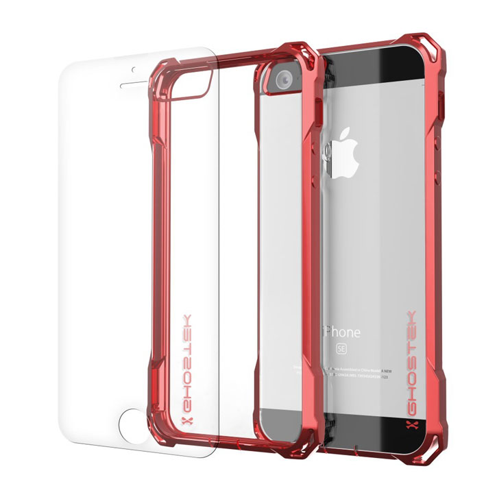 mum was diagnosed ghostek covert iphone se protective case red