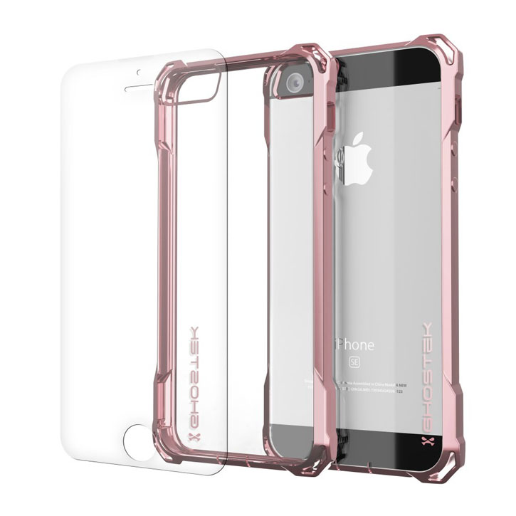 Ghostek Covert iPhone SE Protective Case - Pink