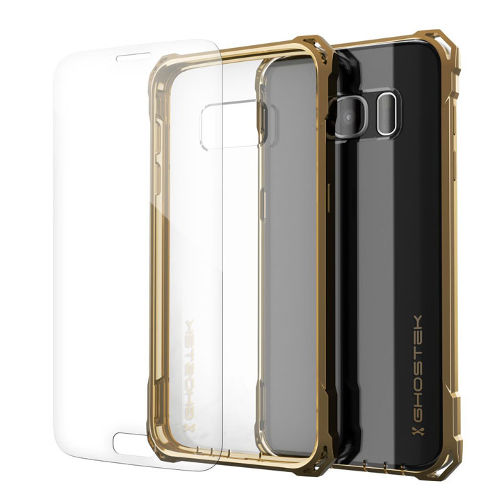 Ghostek Covert Samsung Galaxy S7 Bumper Case - Clear / Gold
