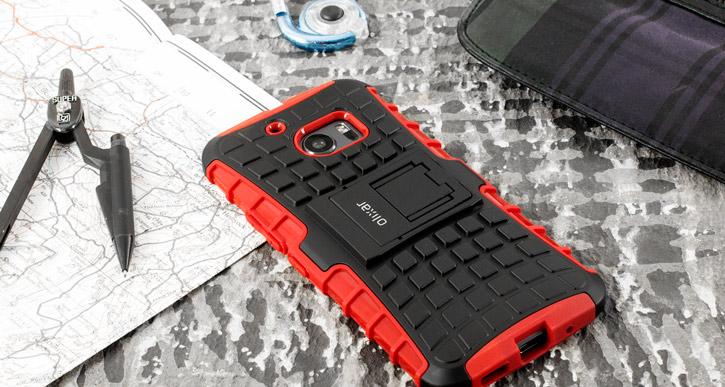 ArmourDillo HTC 10 Protective Case - Red