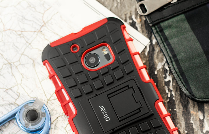 ArmourDillo HTC 10 Protective Case - Red