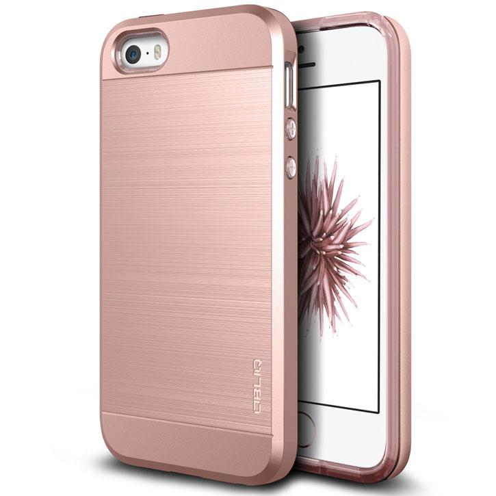 brand new a674d f976d Obliq Slim Meta iPhone SE Case - Rose Gold
