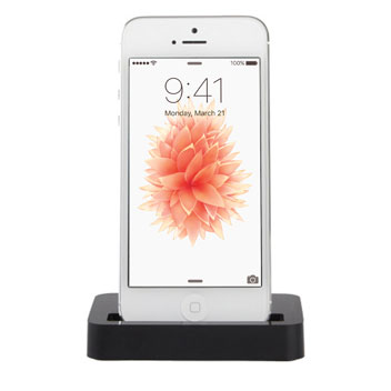 iPhone SE Lightning Charge and Sync Dock - Black