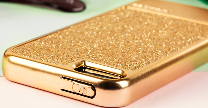 Prodigee Sparkle Fusion iPhone SE Glitter Case - Rose Gold