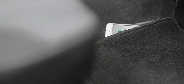 TrackR Bravo Phone and Valuables Bluetooth Locator - Rose Gold
