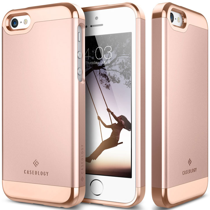 caseology savoy series iphone se slider case rose gold. Black Bedroom Furniture Sets. Home Design Ideas