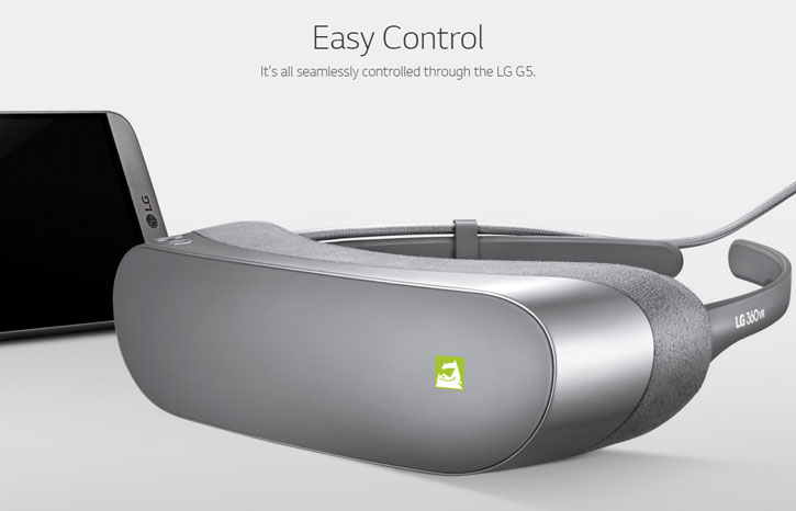 LG 360 VR Portable VR Headset - Titan Silver