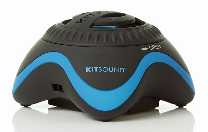 KitSound Invader Universal Portable Mini Speaker
