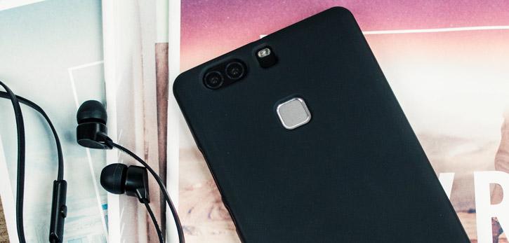 Flexishield Huawei P9 Plus Gel Case - Solid Black