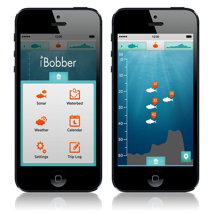 iBobber Bluetooth Smart Castable Fish Finder
