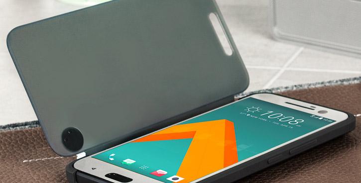 Etui Ice View Officiel HTC 10 - Noir
