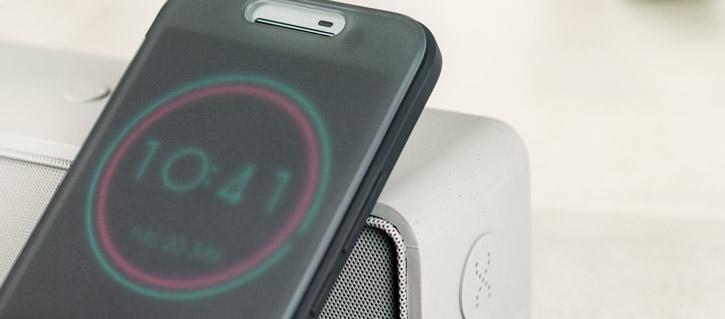 sale retailer c8704 0714e Official HTC 10 Ice View Case - Black