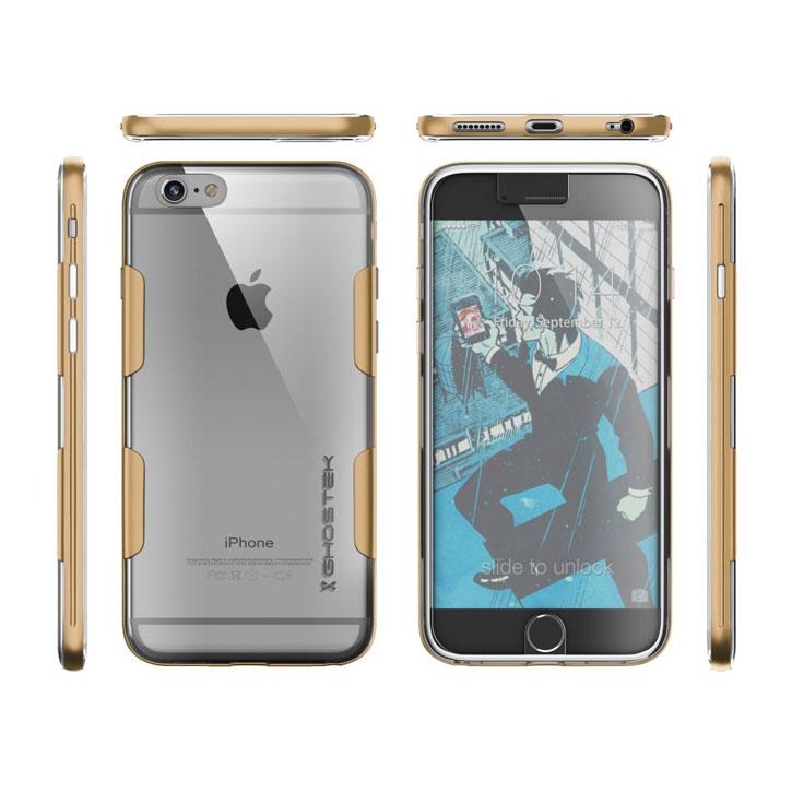 Ghostek Cloak iPhone 6S Plus / 6 Plus Tough Case - Clear / Space Grey