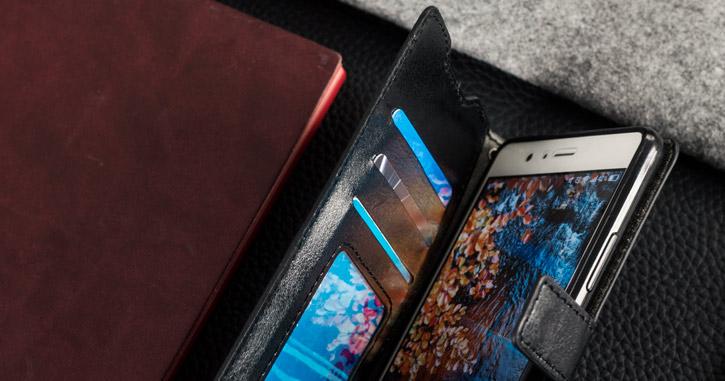 Olixar Huawei P9 Lite Wallet Case - Black