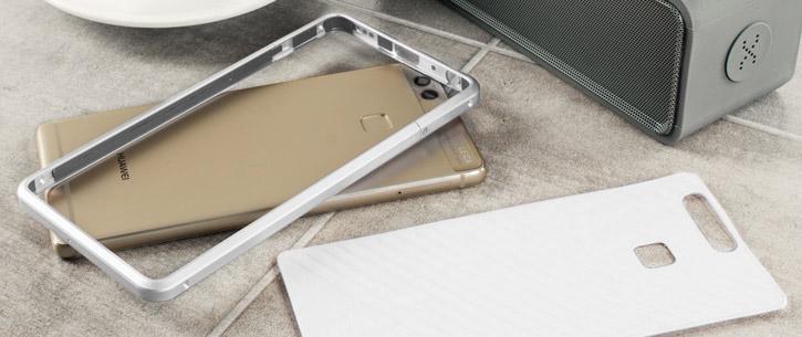 Huawei P9 Aluminium Bumper Case - Silver