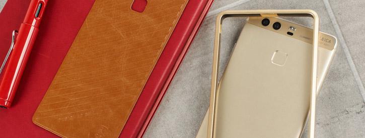 Huawei P9 Aluminium Bumper Case - Gold