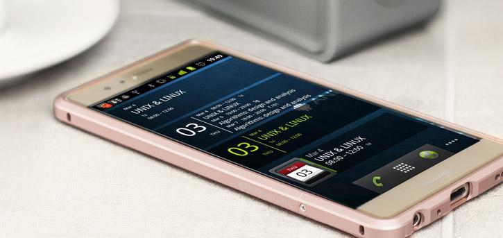 Huawei P9 Aluminium Bumper Case - Rose Gold