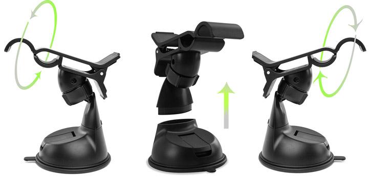Olixar DriveTime Samsung Galaxy S8 Kfz Halter & Lade Pack