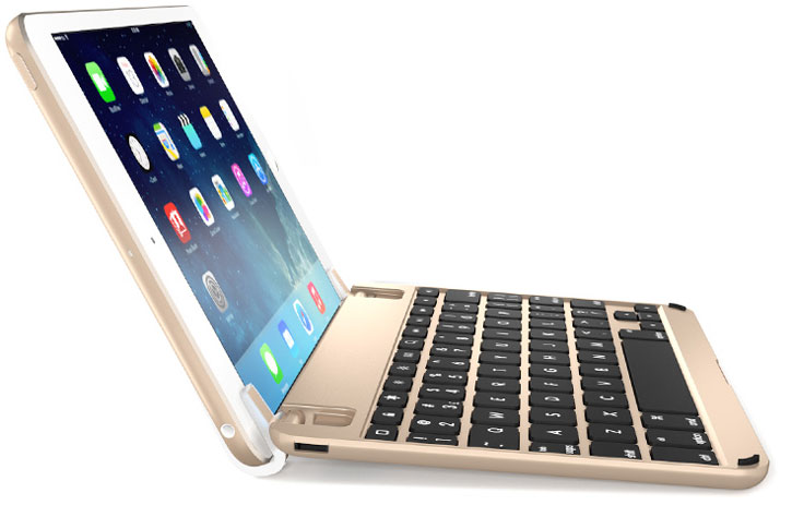 Brydgemini 2 Aluminium Ipad Mini 4 Keyboard Gold
