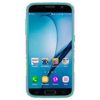 Speck CandyShell Inked Samsung Galaxy S7 Case - Wild Tropic Fuchsia