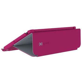Speck StyleFolio iPad Pro 9.7 inch Case - Fushia Pink / Grey