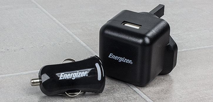 Energizer High Power 2.1A Micro USB 3 in 1 Charging Kit - Black