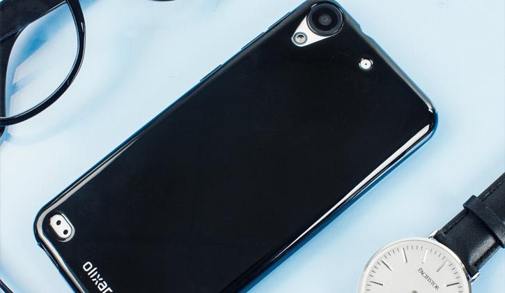 FlexiShield HTC Desire 530 / 630 Gel Case - Solid Black
