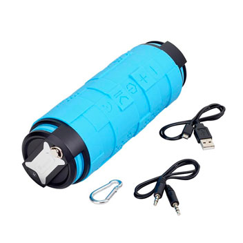 Superspot Toughtube Rugged Outdoor Wireless PowerBank Speaker - Blue