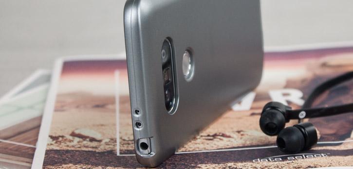 Mercury Goospery iJelly LG G5 Gel Case - Metallic Grey