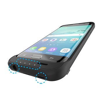 Incipio offGRID Samsung Galaxy S7 Edge Battery Case - Black