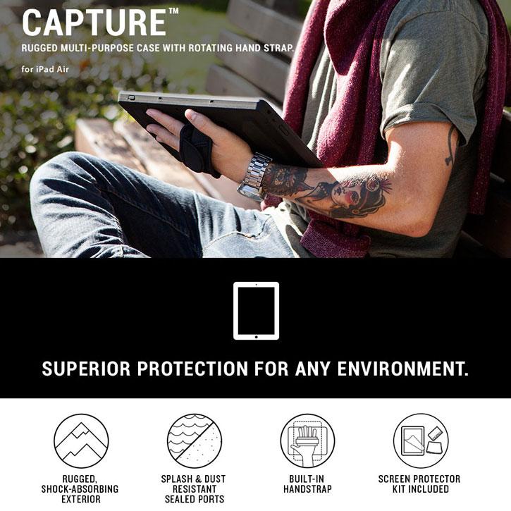 Incipio Capture Ultra-Rugged iPad Pro 9.7 Case with Hand Strap