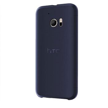 Official HTC 10 Ice View Case - Blue