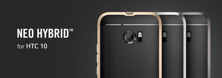 Spigen Neo Hybrid HTC 10 Case - Champagne Gold