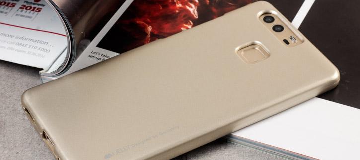 Mercury Goospery iJelly Huawei P9 Gel Case - Gold