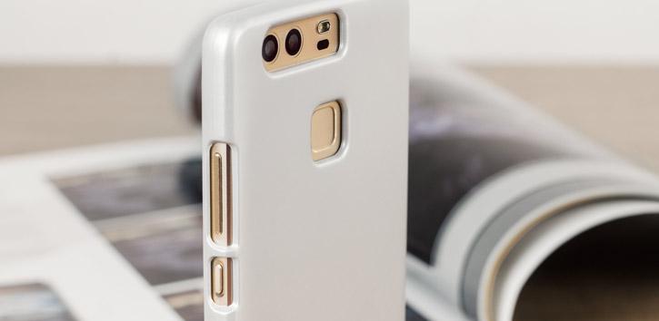 Mercury Goospery iJelly Huawei P9 Gel Case - Silver