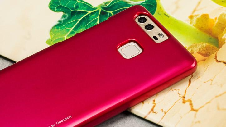 Mercury Goospery iJelly Huawei P9 Gel Case - Pink