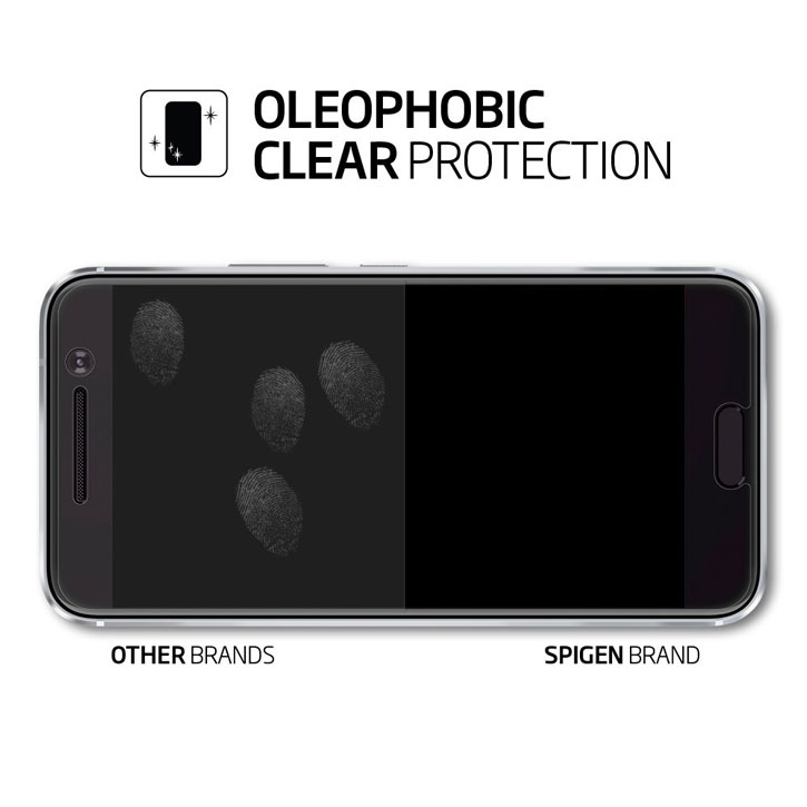 Spigen Crystal HTC 10 Screen Protectors -Three Pack