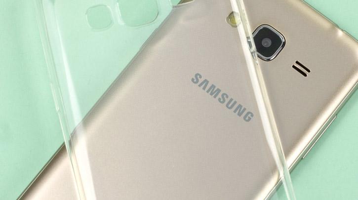 Custodia Ultra Thin Olixar Samsung Galaxy J3 2016 - Trasparente