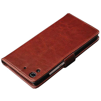Olixar Huawei Y6 Wallet Case - Brown