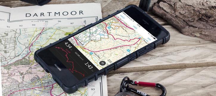Olixar ArmourDillo Huawei P8 Lite Protective Case - Black