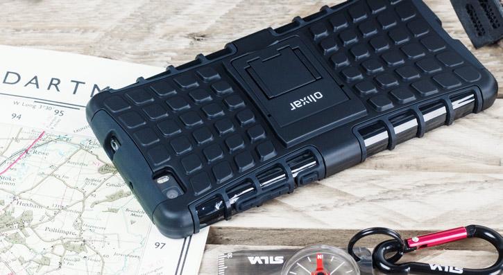 ArmourDillo Huawei P8 Lite Protective Case - Black