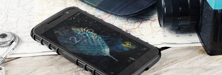 Olixar ArmourDillo Moto G4 Protective Case - Black