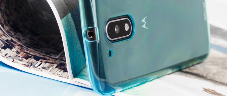 Olixar FlexiShield Moto G4 Plus Gel Case - Blue