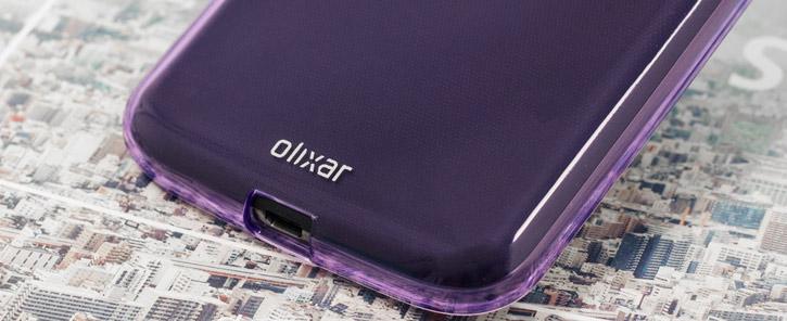Olixar FlexiShield Moto G4 Plus Gel Case - Purple