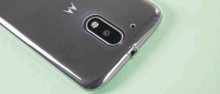 Olixar Ultra-Thin Moto G4 Gel Case - 100% Clear