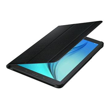 Official Samsung Galaxy Tab E 9.6 Book Cover Case - Black
